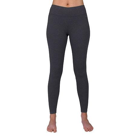 Jockey Womens Mid Rise Legging, X-large , Black