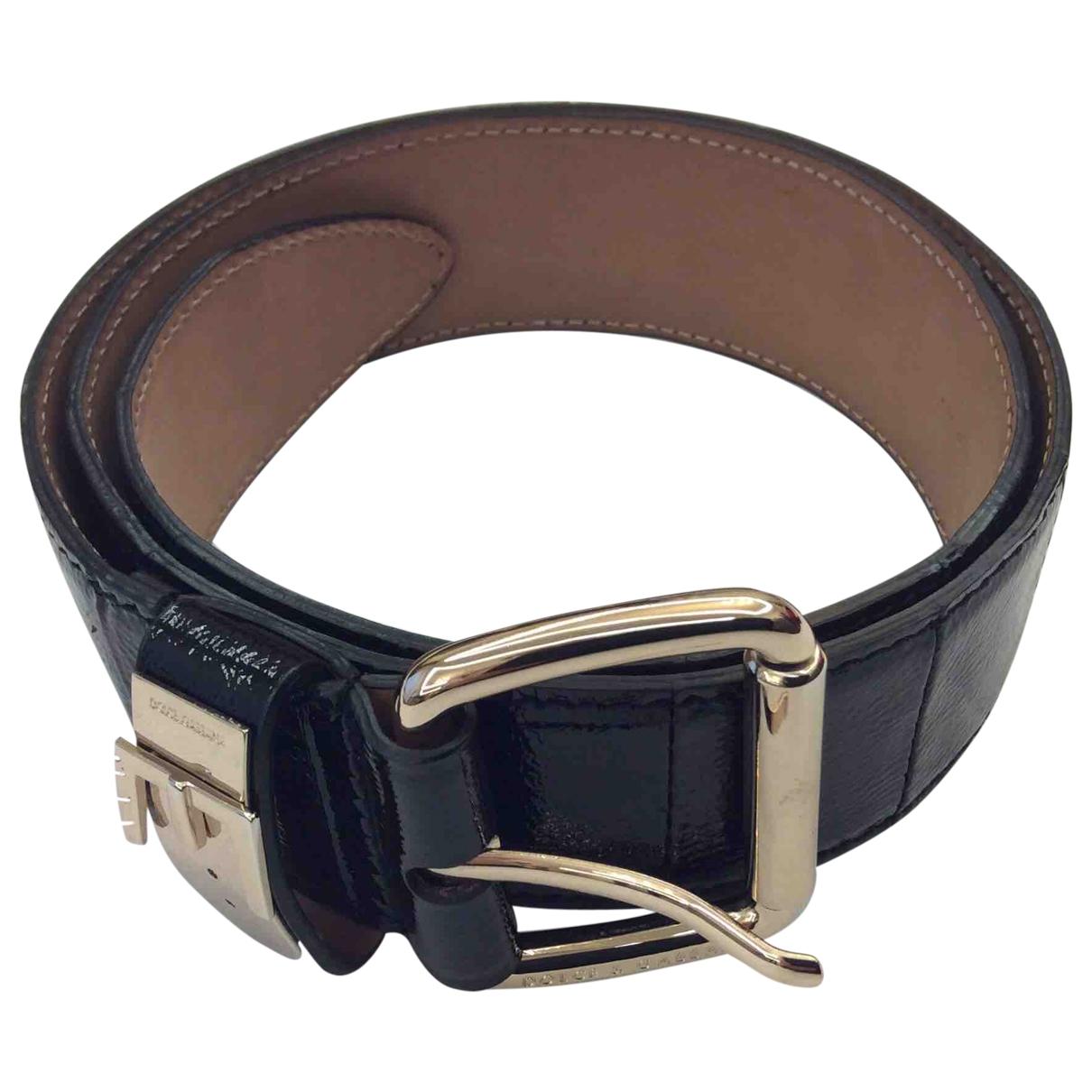 Dolce & Gabbana \N Black Patent leather belt for Women L International