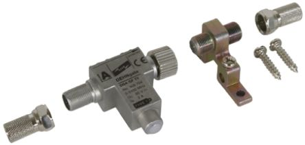 Dehn DGA Series 24 V dc Maximum Voltage Rating 1.5kA Maximum Surge Current Lightning Arrester, DIN Rail Mounting
