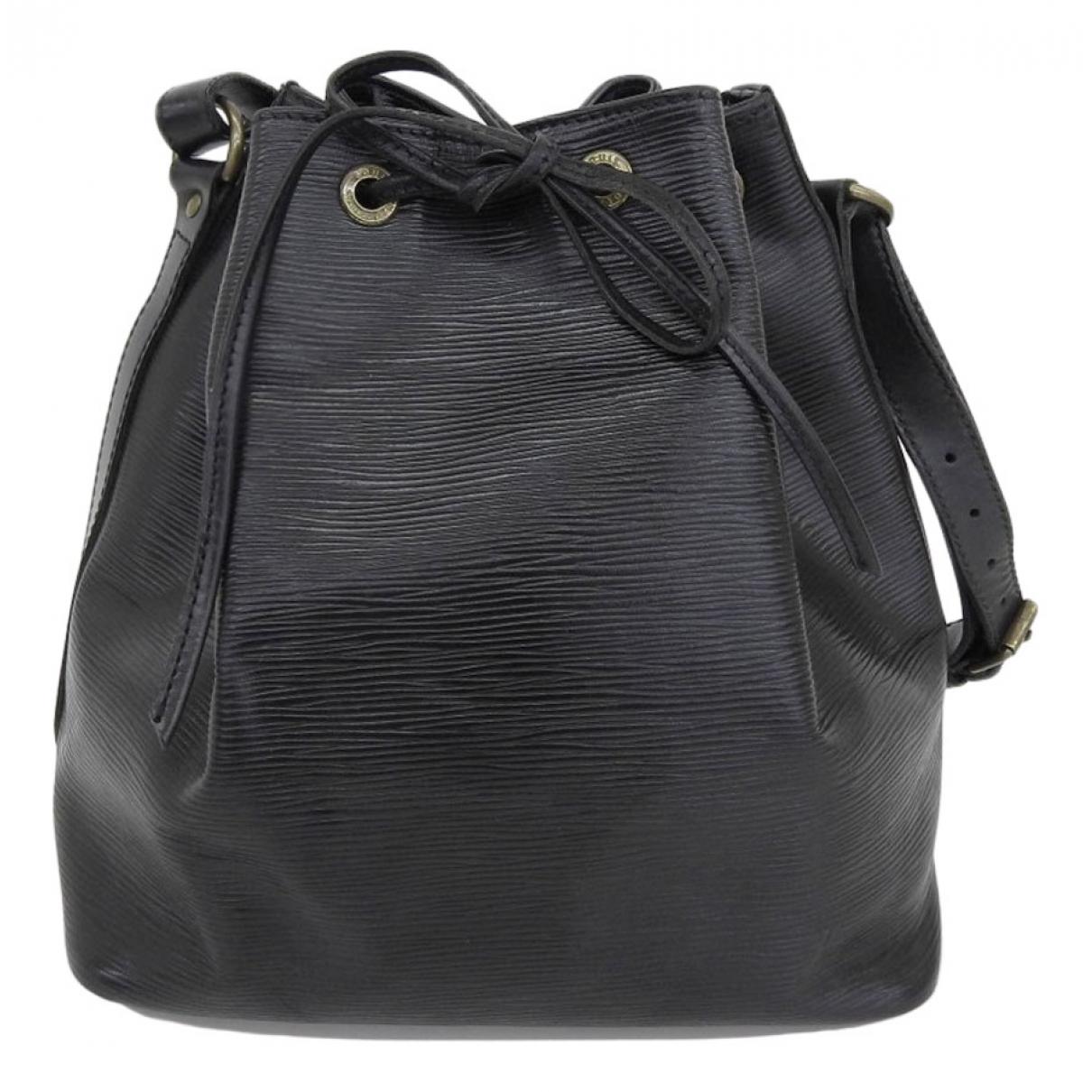 Louis Vuitton Noé Black Leather handbag for Women N