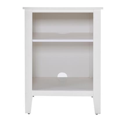 156-DSA329-050 One Shelf Plank Side Nightstand in