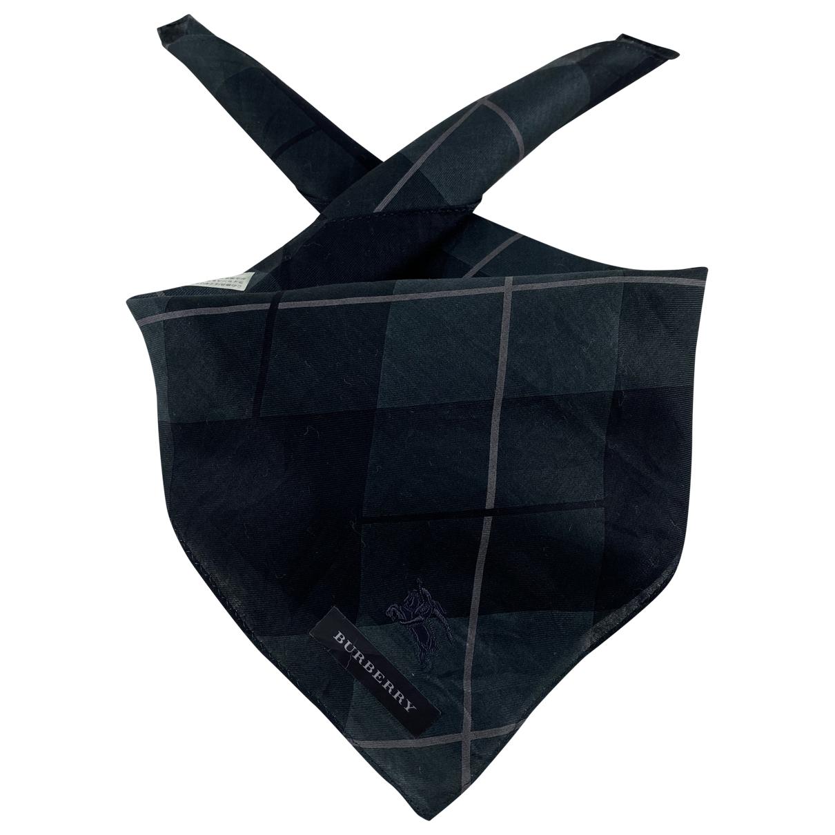 Burberry \N Cotton scarf & pocket squares for Men \N