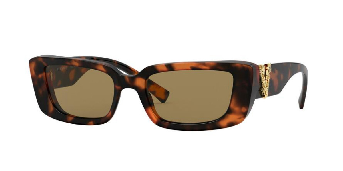 Versace VE4382 944/73 Women's Sunglasses Tortoise Size 52