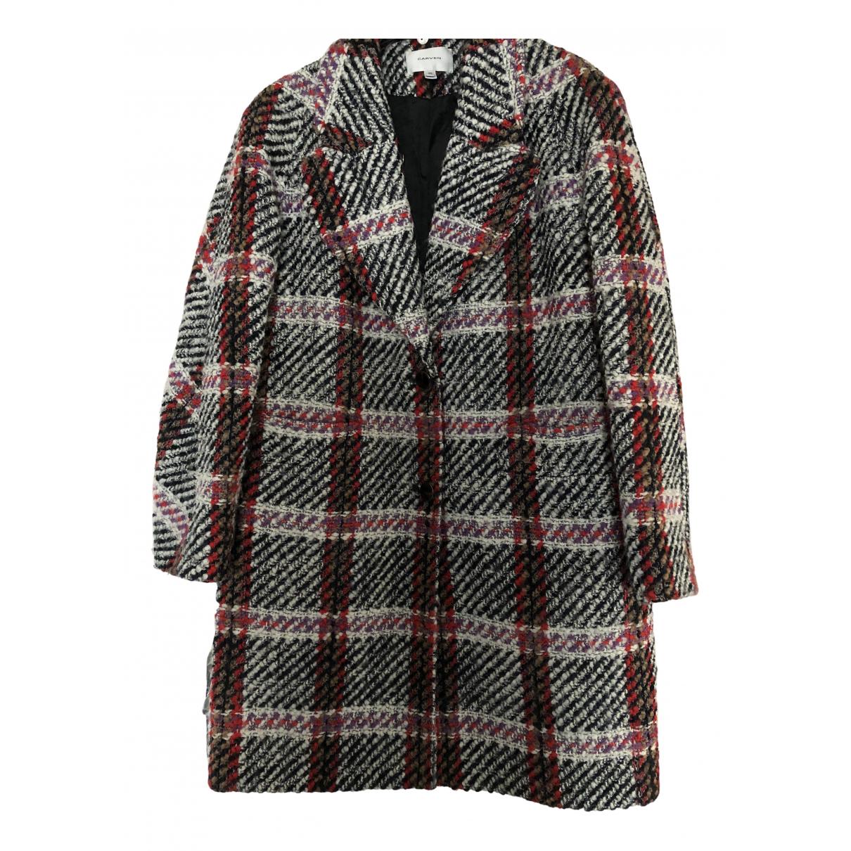 Carven - Manteau   pour femme en laine