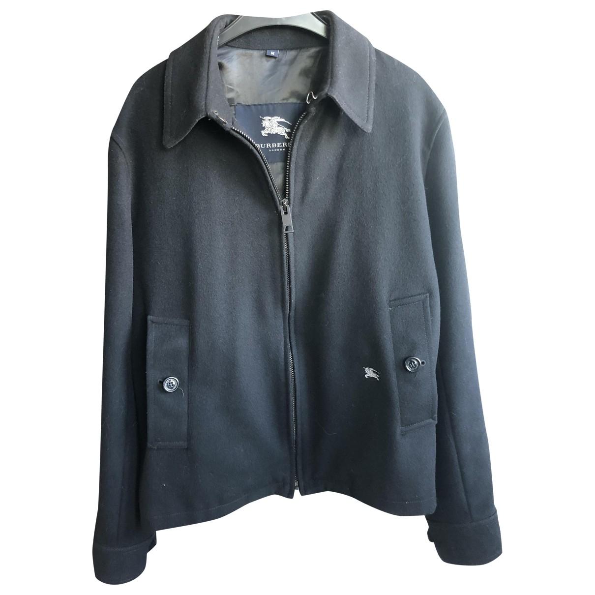 Burberry \N Navy Cotton jacket  for Men M International