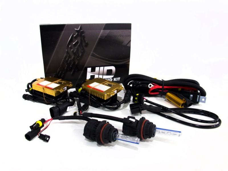 Race Sport Lighting VS-FORD0913-5K H13 HID 5K Complete Kit Ford F-150 09-14