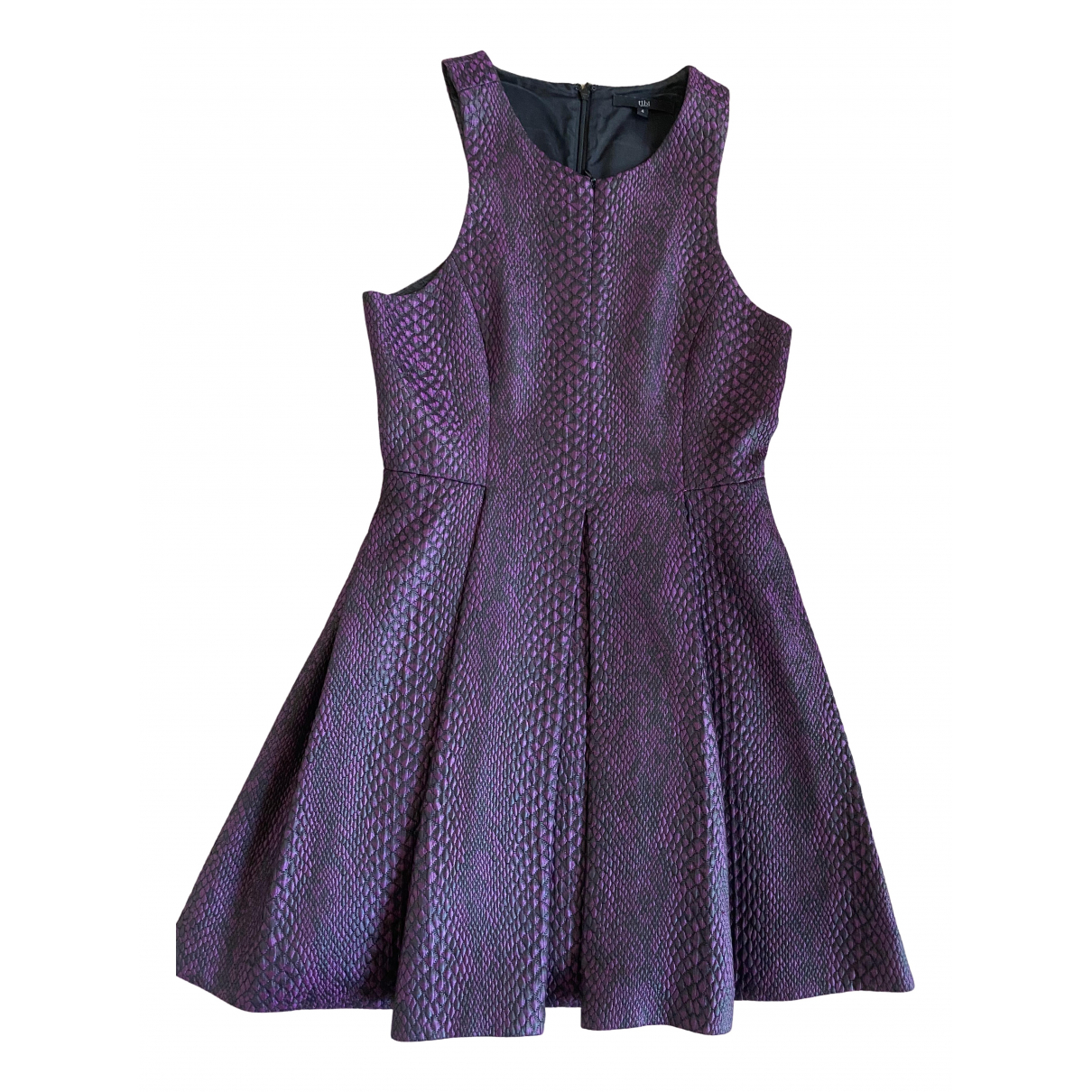 Tibi \N Kleid in  Lila Polyester