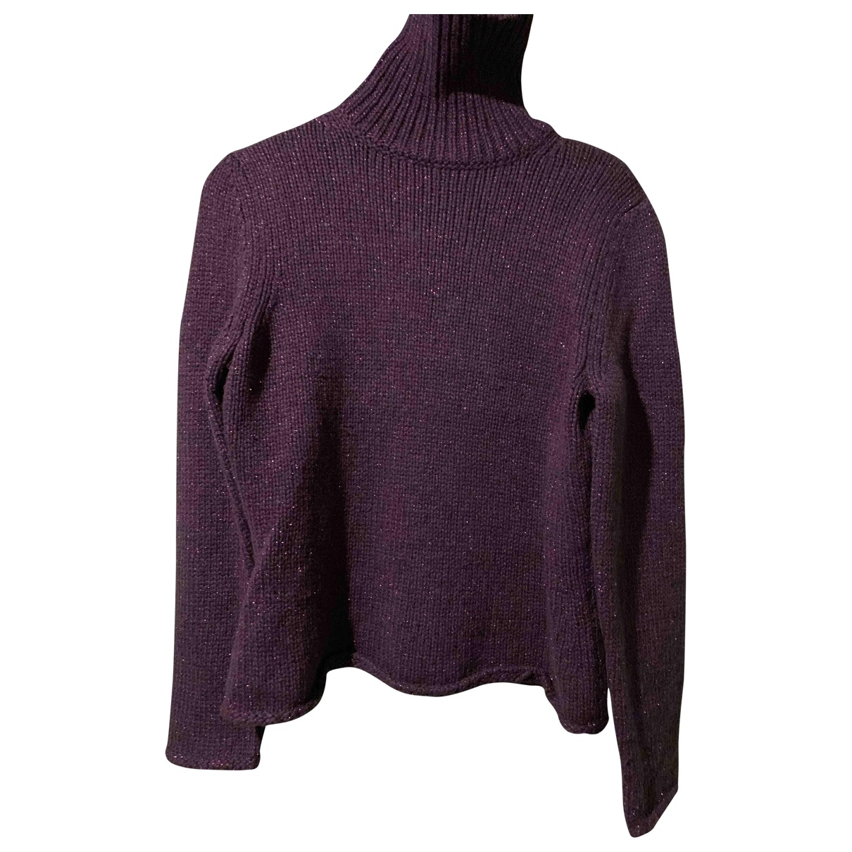 Gerard Darel - Pull   pour femme en laine - violet