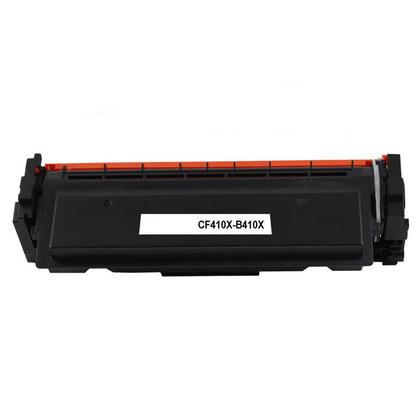 Compatible HP 410X CF410X Black Toner Cartridge High Yield- Economical Box