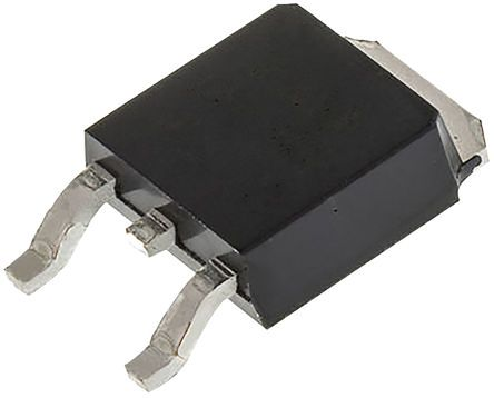 ON Semiconductor N-Channel MOSFET, 1 A, 800 V, 3-Pin DPAK  FQD1N80TM (5)