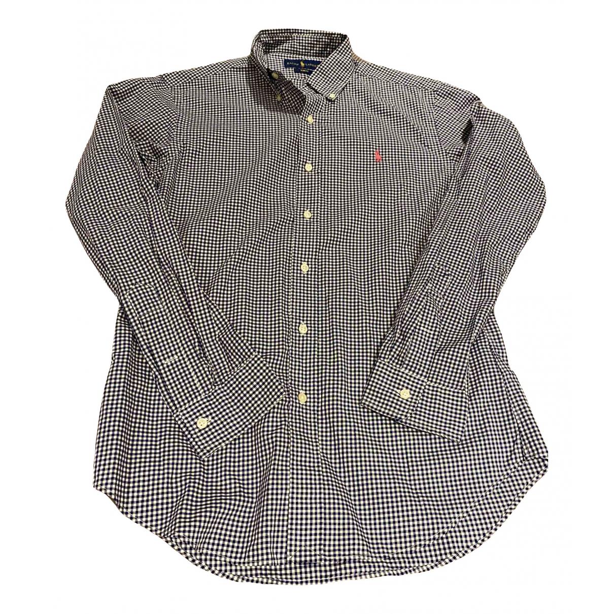 Ralph Lauren N Navy Cotton Shirts for Men M International