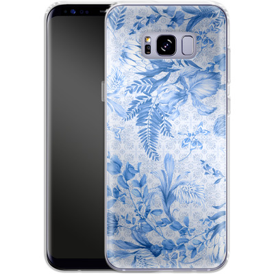 Samsung Galaxy S8 Plus Silikon Handyhuelle - Santorini Breeze von Stephanie Breeze