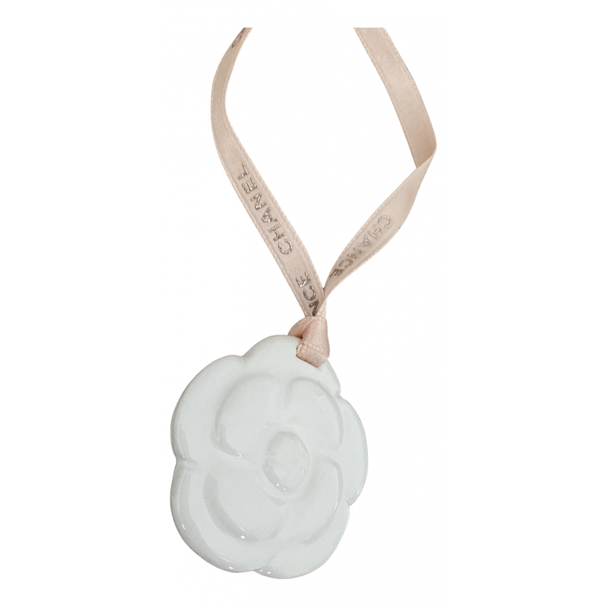 Chanel Camélia White Ceramic pendant for Women N