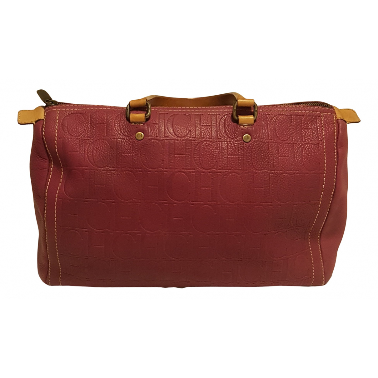 Carolina Herrera \N Handtasche in  Rosa Leder