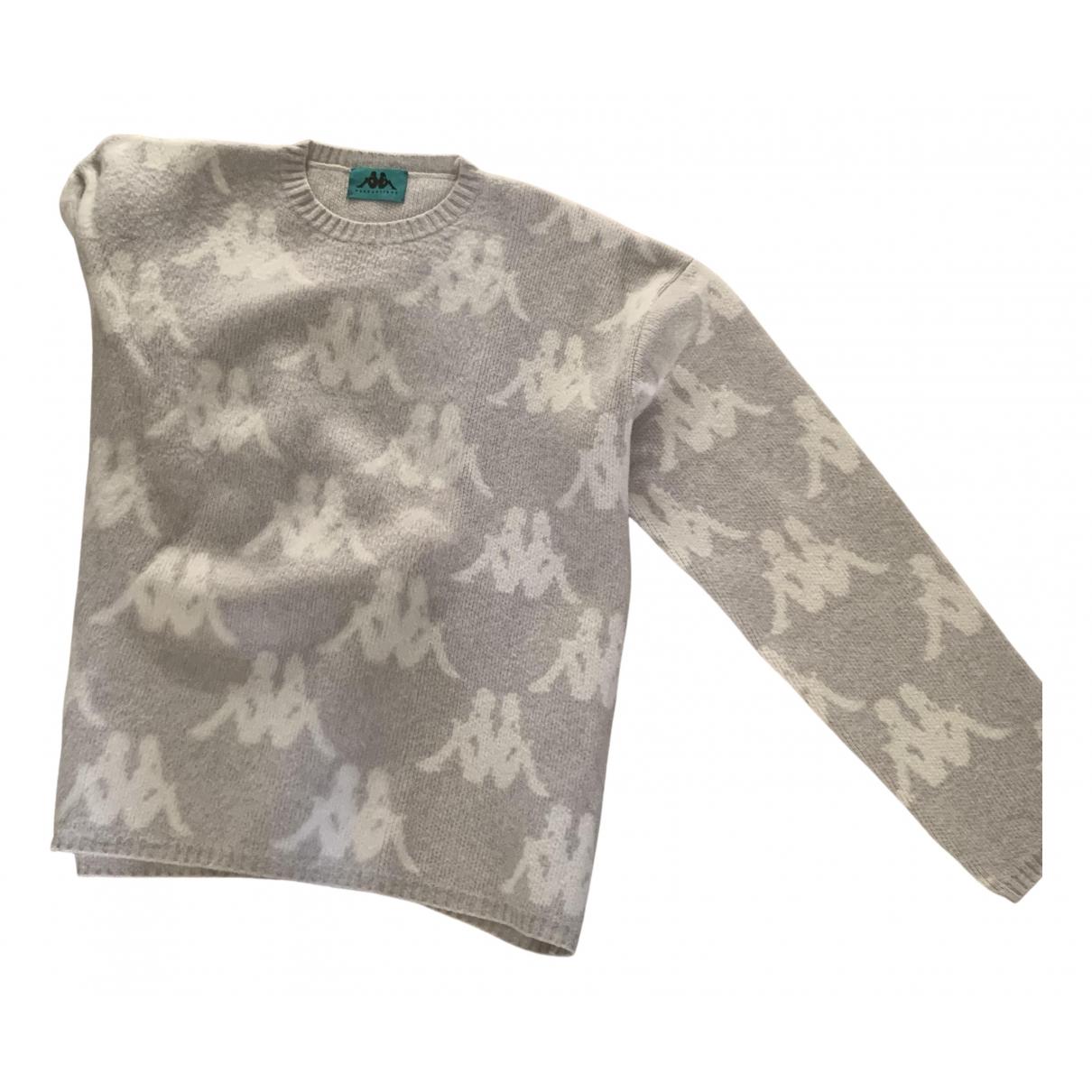 Kappa \N Pullover.Westen.Sweatshirts  in  Grau Wolle