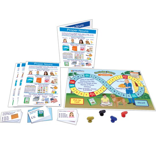 New Path Learning® Proper Nouns Learning Center Game | Michaels®