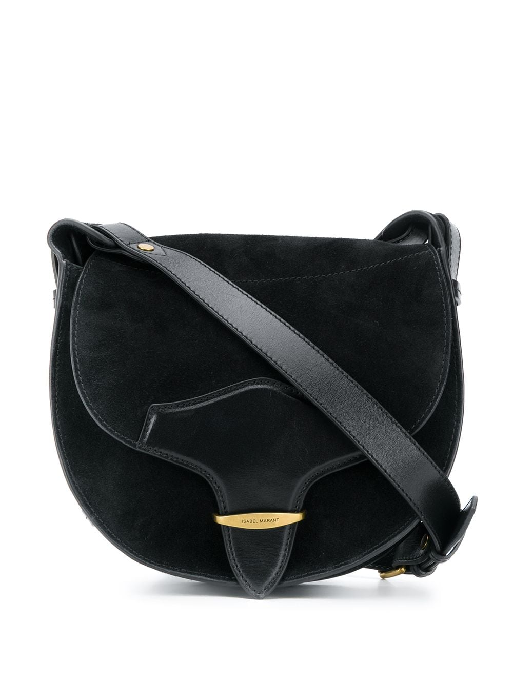 Botsy Leather Crossbody Bag