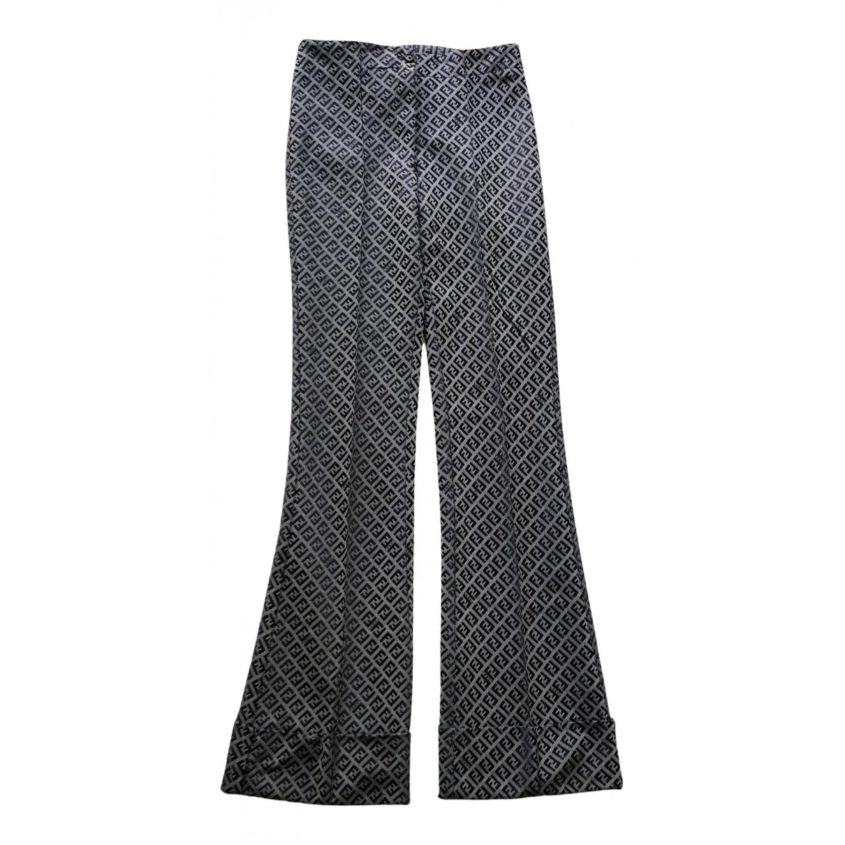 Pantalon de Lona Fendi