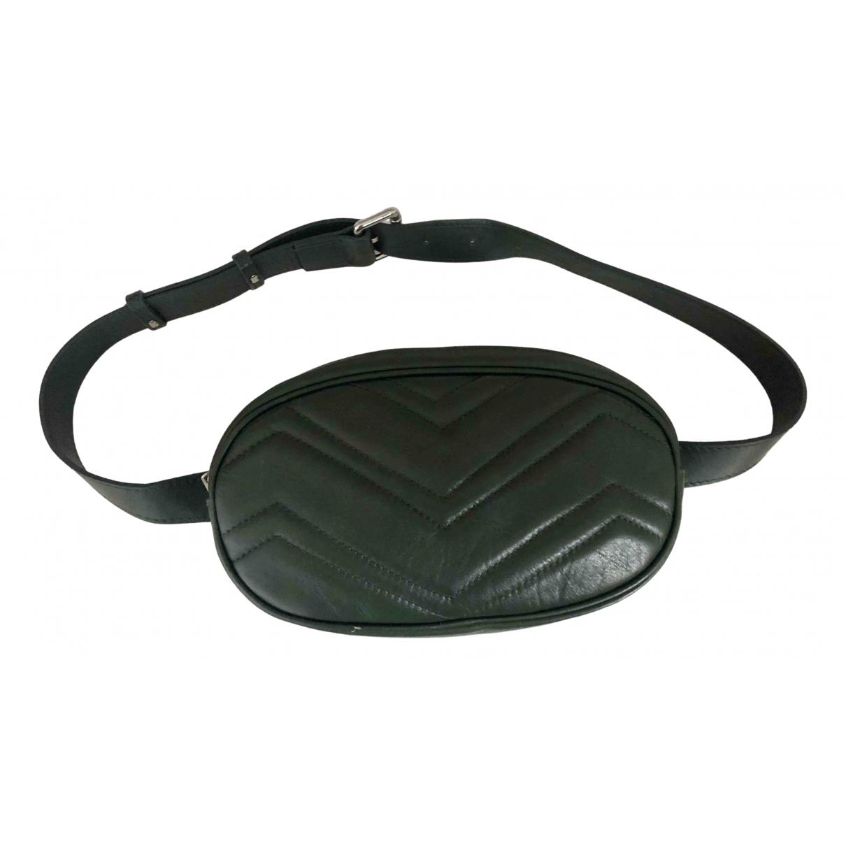 Jean-louis Scherrer \N Green Leather Clutch bag for Women \N