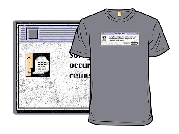 Nostalgia V.7.5 T Shirt