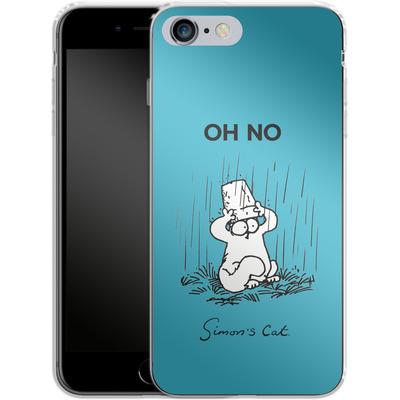 Apple iPhone 6s Plus Silikon Handyhuelle - Oh No von Simons Cat
