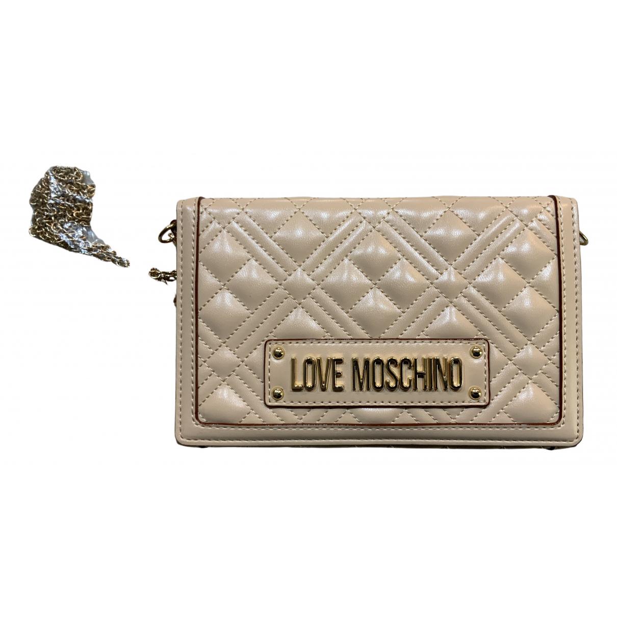 Moschino Love - Sac a main   pour femme en cuir - rose
