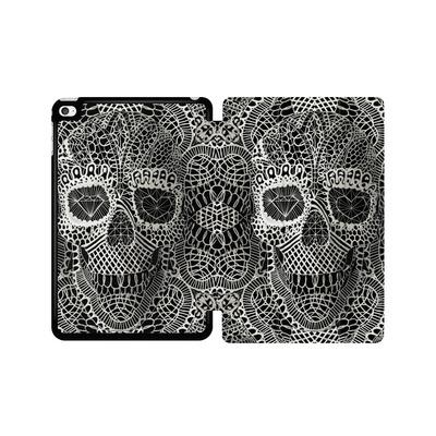 Apple iPad mini 4 Tablet Smart Case - Lace Skull von Ali Gulec