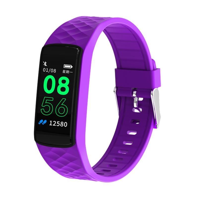 SN66 IPS Screen Dynamic UI 24-hour HR Blood Pressure Sports Mode USB Charging Smart Watch Band