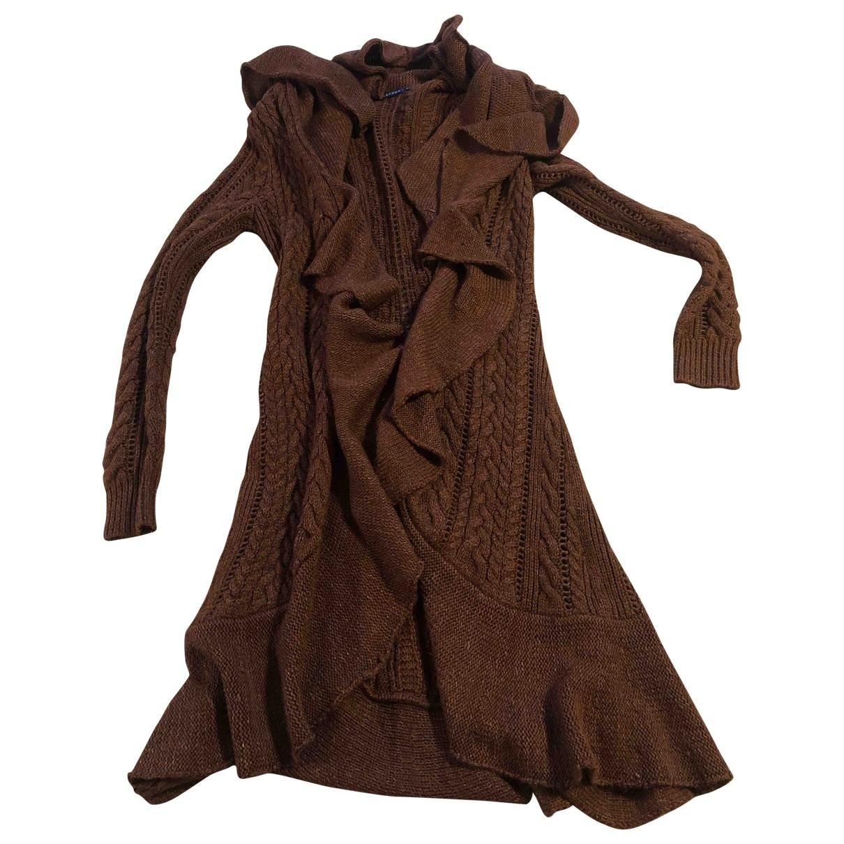 Ralph Lauren \N Pullover in  Braun Wolle