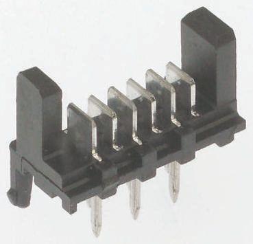 Molex 10-Way IDC Connector Plug Through Hole Mount, 1-Row (5)