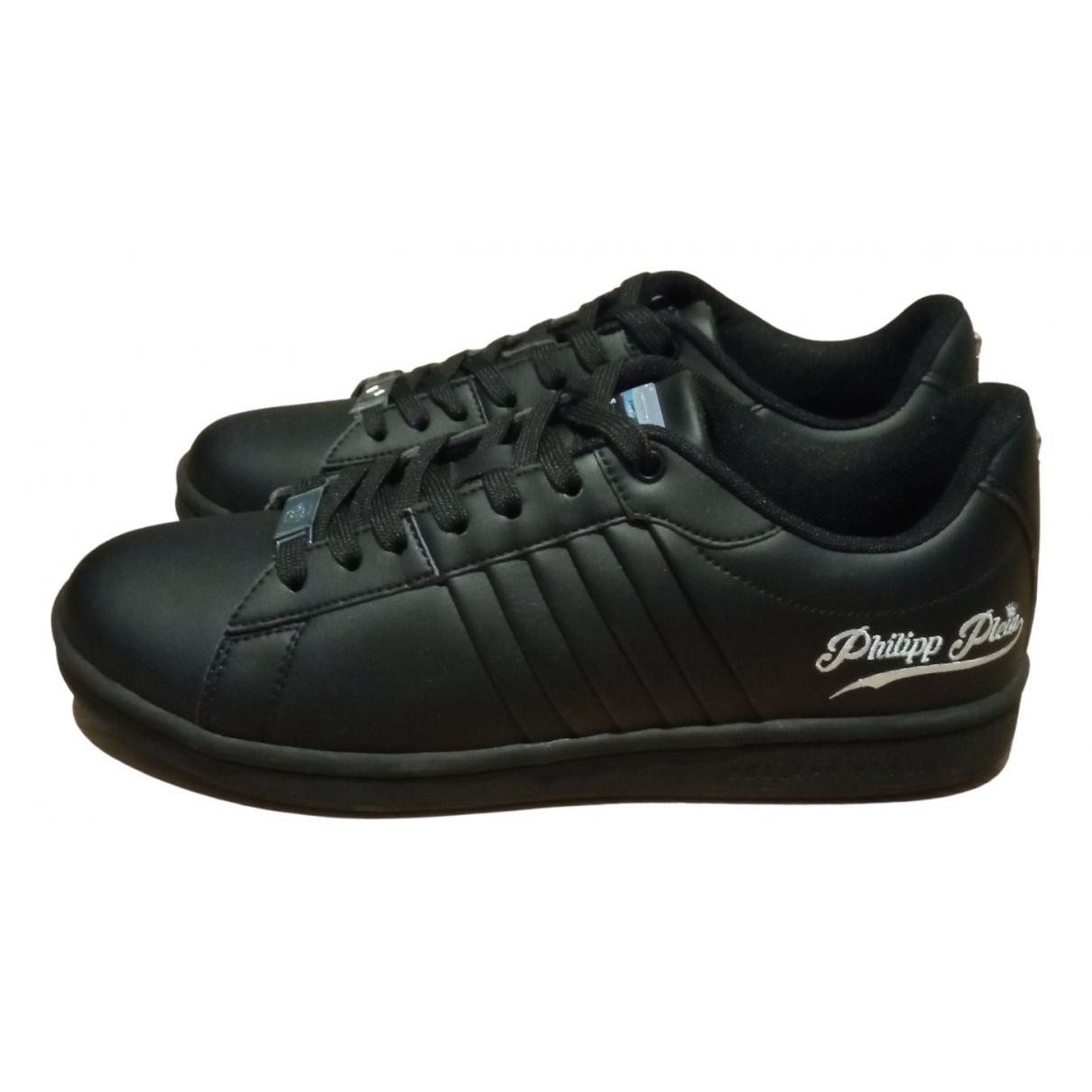 Philipp Plein Original Sneakers in  Schwarz Leder