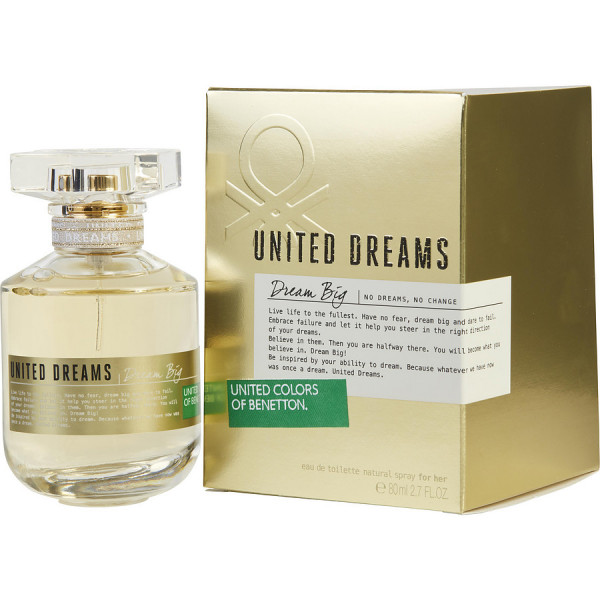 Benetton - United Dreams Dream Big : Eau de Toilette Spray 2.7 Oz / 80 ml