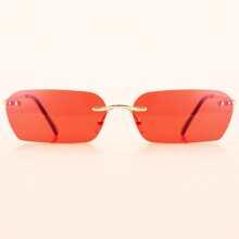 Men Rimless Sunglasses