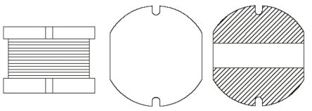 TRACOPOWER Common Mode Choke for use with TON 15-WI