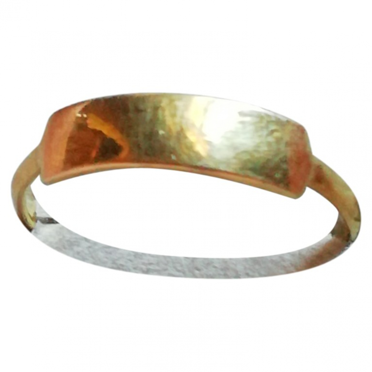 Non Signe / Unsigned \N Ring in  Gold Vermeil