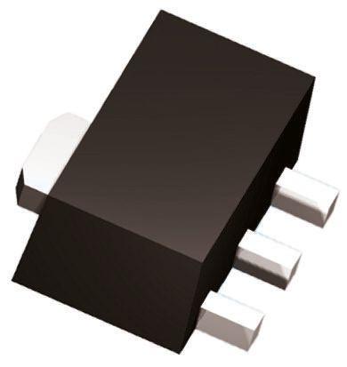 DiodesZetex Diodes Inc FCX1151ATA PNP Transistor, 3 A, 40 V, 3-Pin SOT-89 (10)