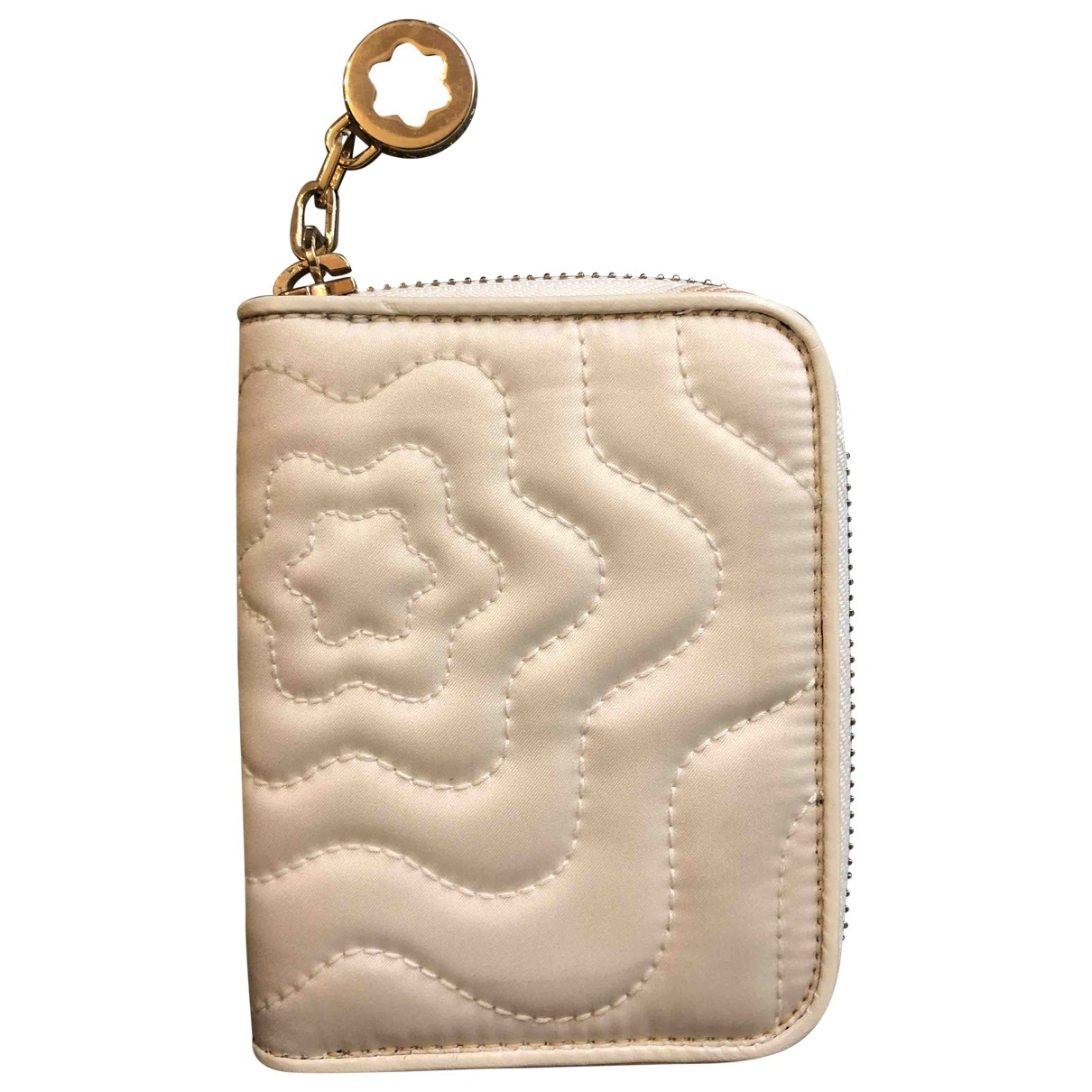 Montblanc - Portefeuille   pour femme en autre - blanc