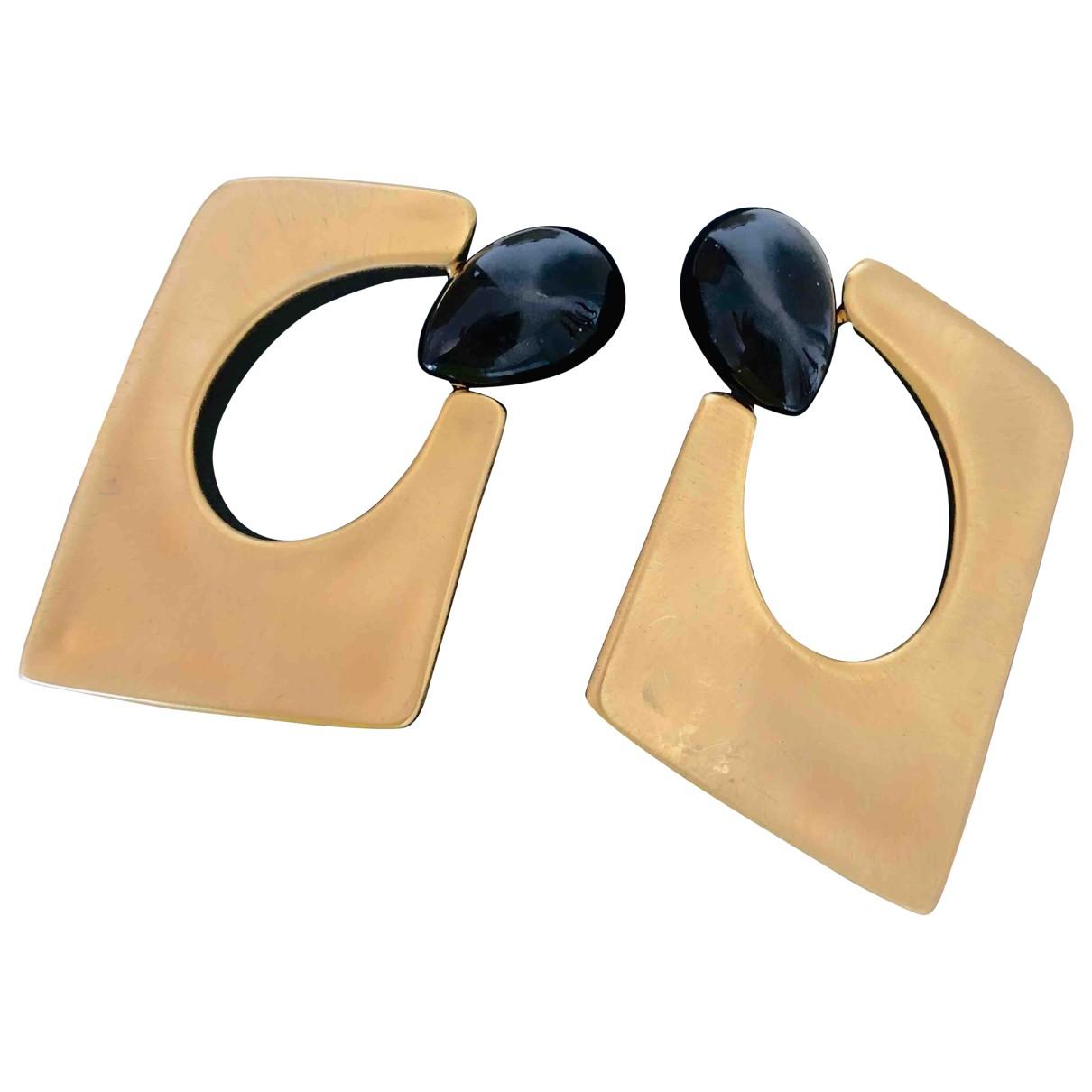 Giuseppe Zanotti - Boucles d'oreilles   pour femme en metal - dore