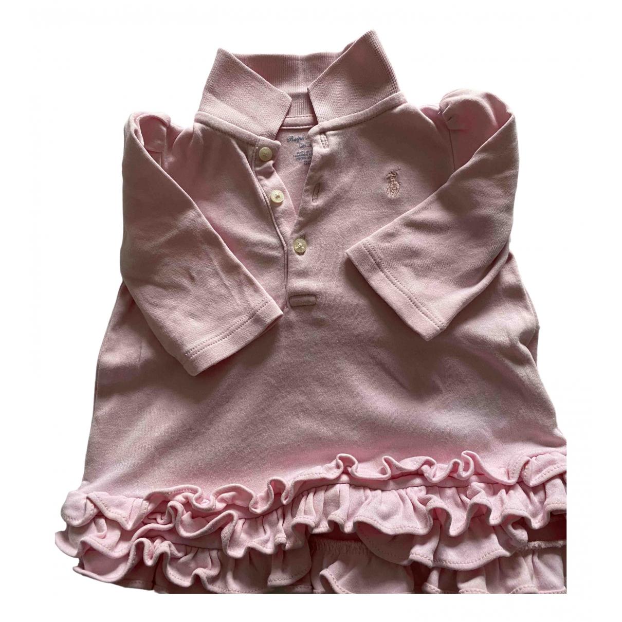 Ralph Lauren - Top   pour enfant en coton - rose