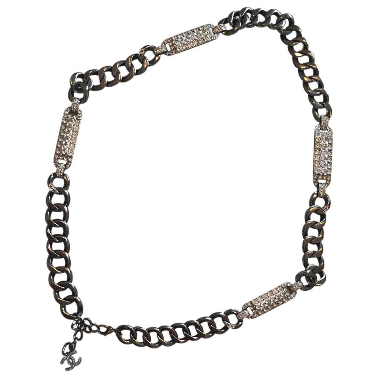 Chanel - Collier CC pour femme en metal - multicolore