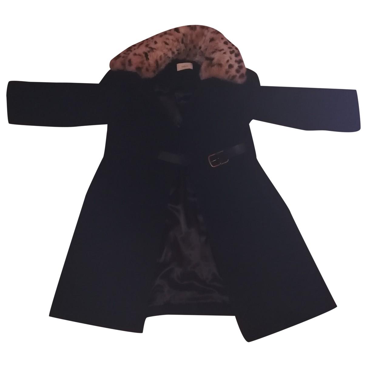 Ba&sh \N Maentel in  Schwarz Wolle