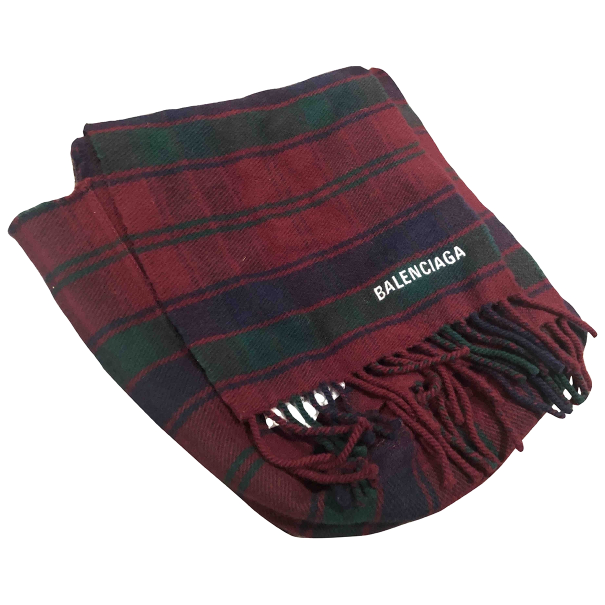Balenciaga - Cheches.Echarpes   pour homme en laine - multicolore