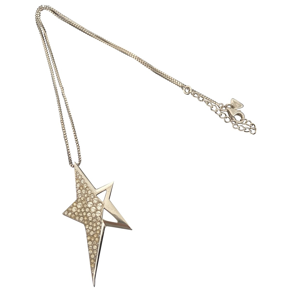 Thierry Mugler \N Silver Metal necklace for Women \N