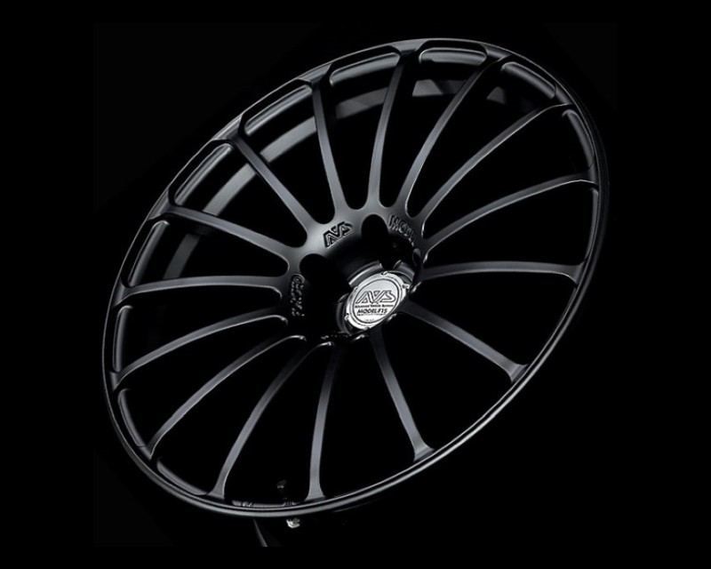 AVS Model F15 Wheel 18x8 5x112 48mm Matte Black
