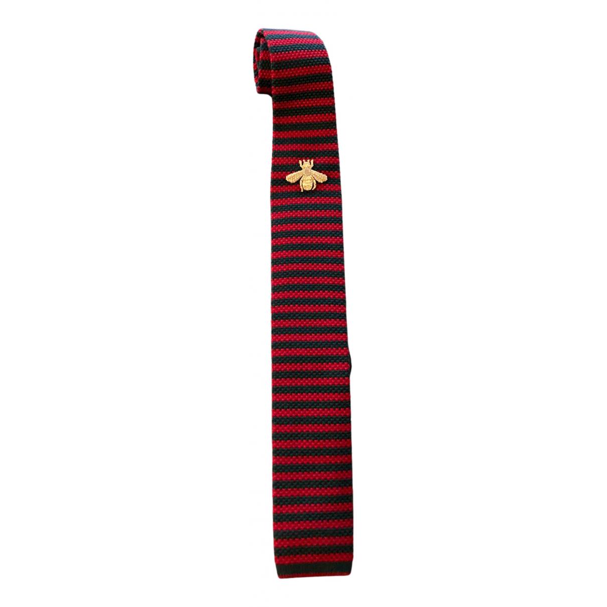 Corbata de Lana Gucci