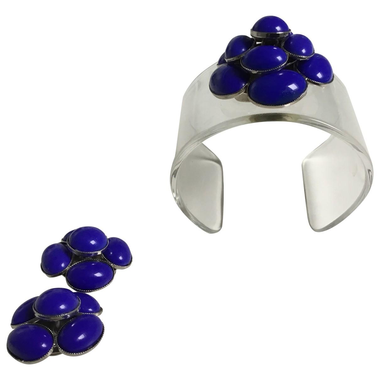 Philippe Ferrandis \N Armband in  Blau Kunststoff