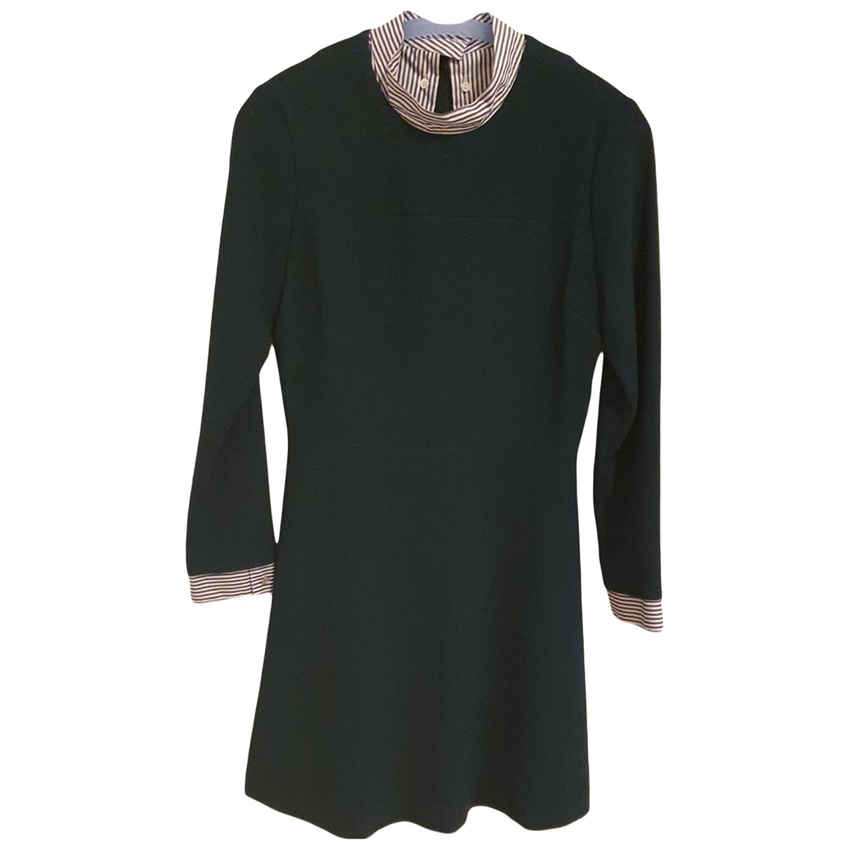 Sandro \N Kleid in  Gruen Polyester