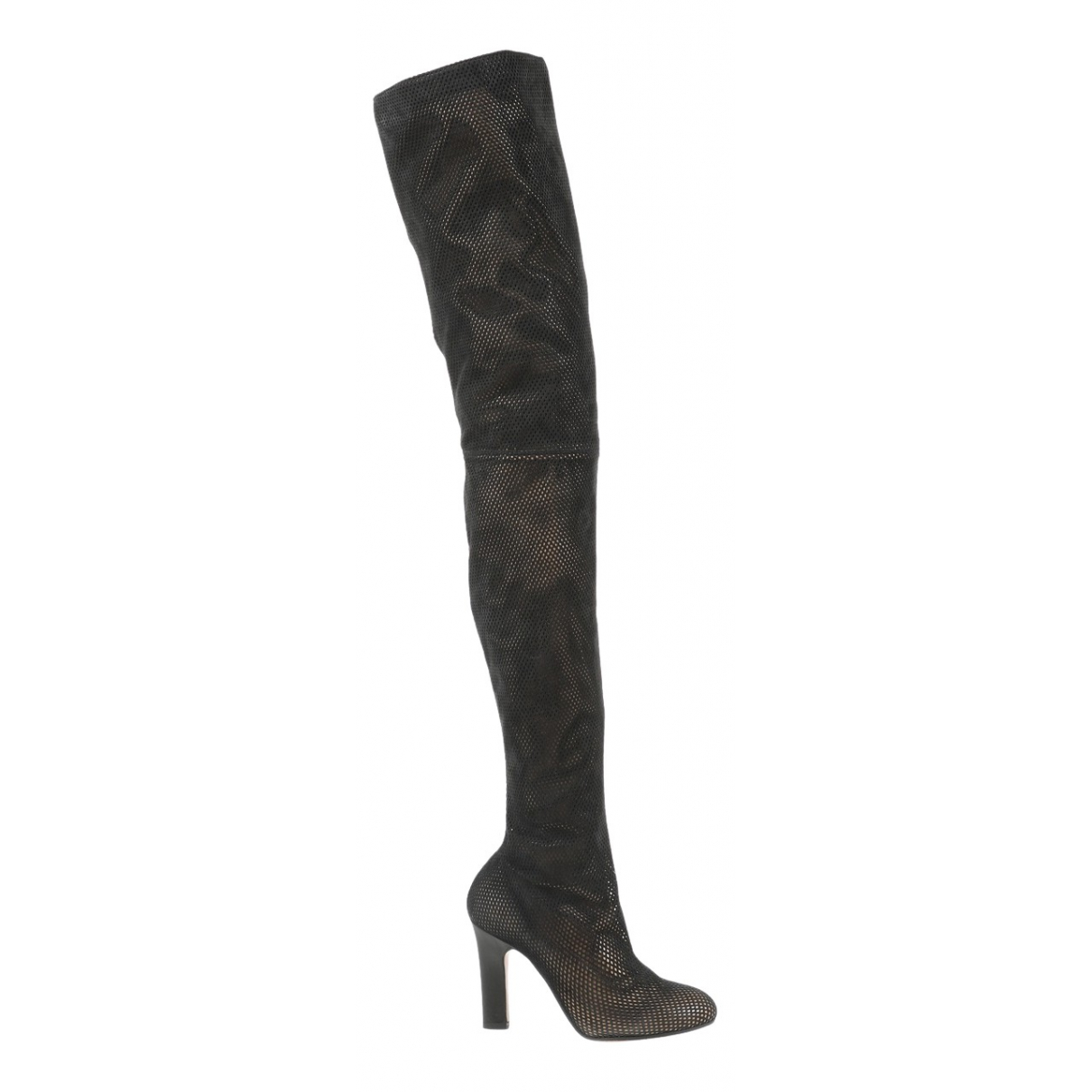 Maison Martin Margiela \N Black Suede Boots for Women 39 EU