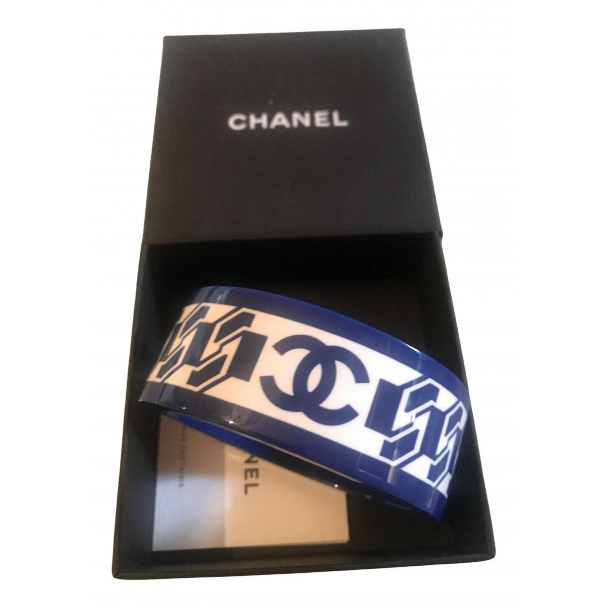Chanel \N Armband in  Blau Kunststoff
