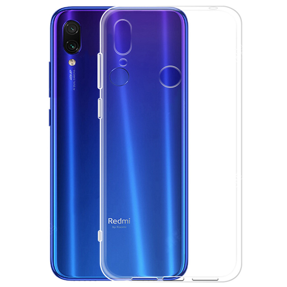 Soft Case for Xiaomi Redmi 7 Silicone Protective Phone Cover - Transparent